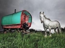 Gypsy caravan