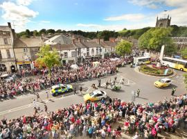 Olympic torch comes to Skipton