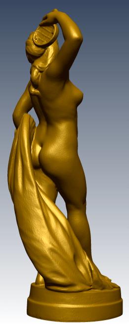 3D Scan of Bacchante