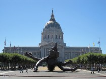 """""""Six Arms, Three Heads"""" Civic Center at City Hall"""