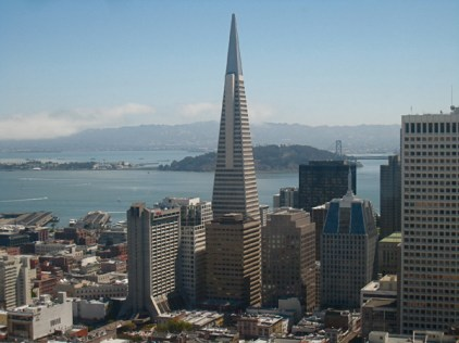 The Letter T: Transamerica Pyramid