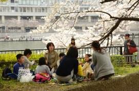 Family gathering in Osaka