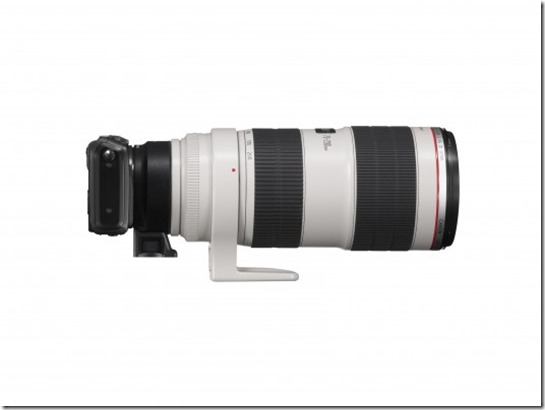EOS - M with EF Adaptor and EF 70-200mm L IS II