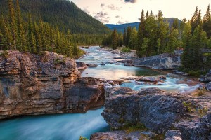 Sunset Elbow Falls by Stephen Kennedy