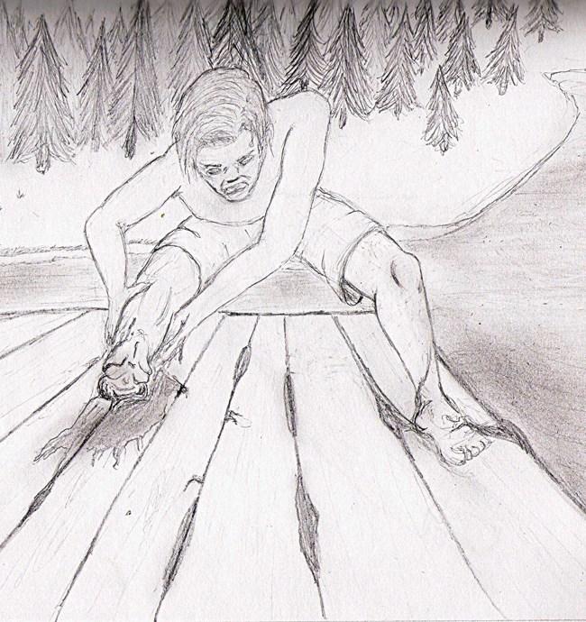 «La balsa», por Alberto Robles