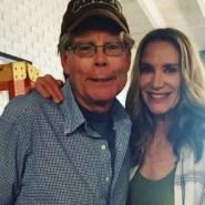 Stephen King y Kelly Lynch