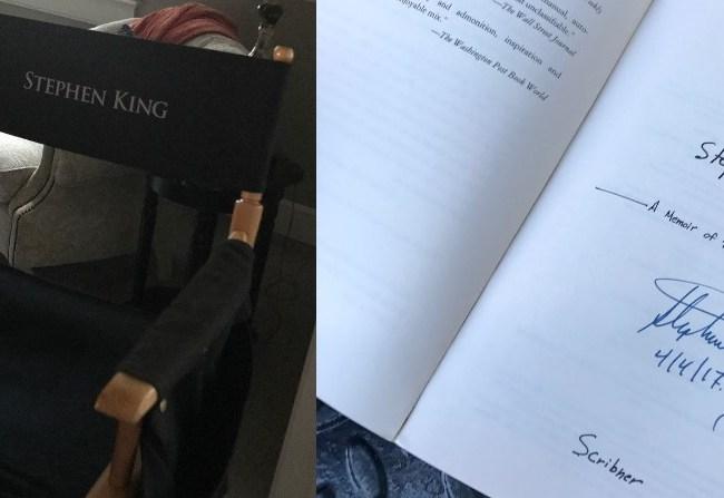Mr. Mercedes: King en el set
