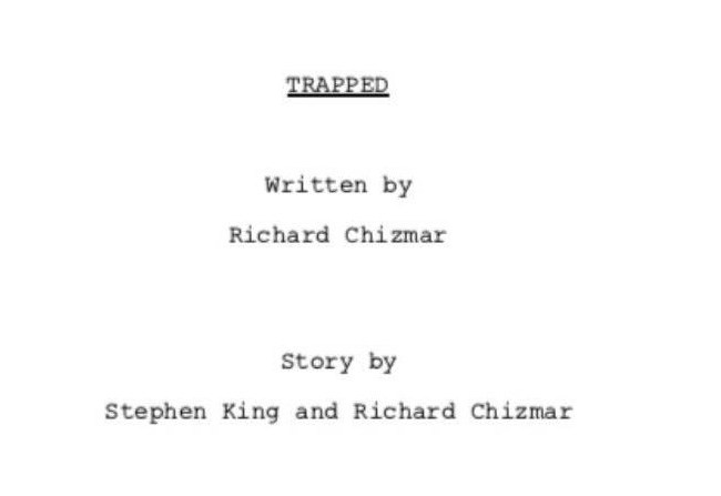 Nuevo proyecto de King y Chizmar