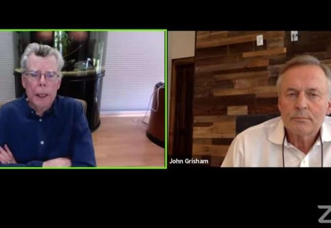 Stephen King & John Grisham: resumen del evento