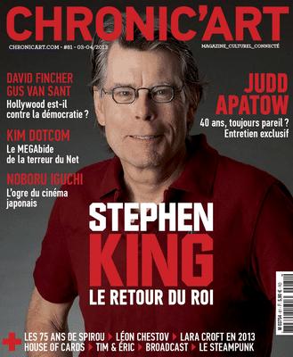 Chronic'Art fait un grand article sur Stephen King