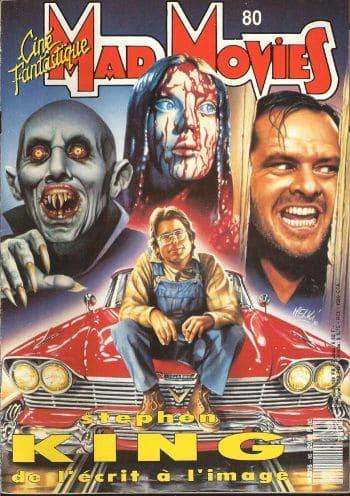 Mad Movies le guide Stephen King complet ciné - télé