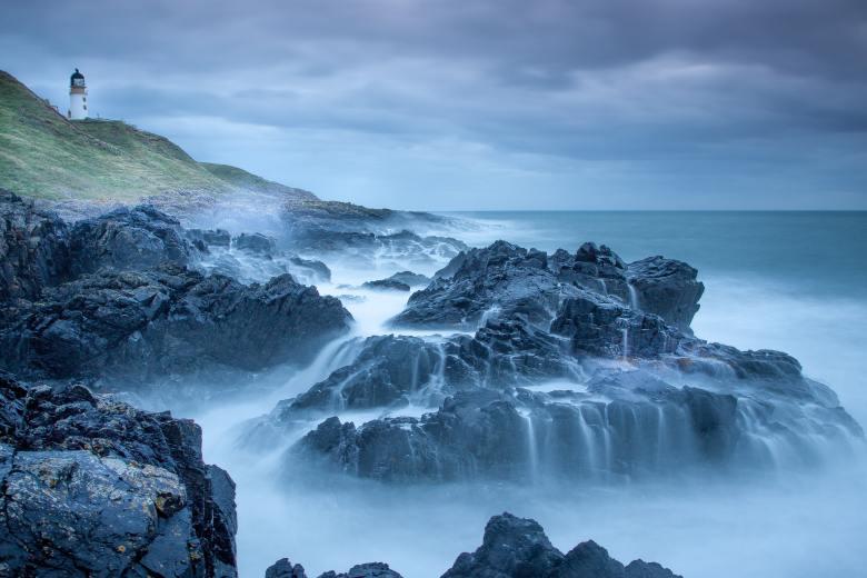 Isobel at the Shore of Bucaidh by Stephen Robert Kuta