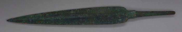 Bronze Age Bronze Small Long Spear Head