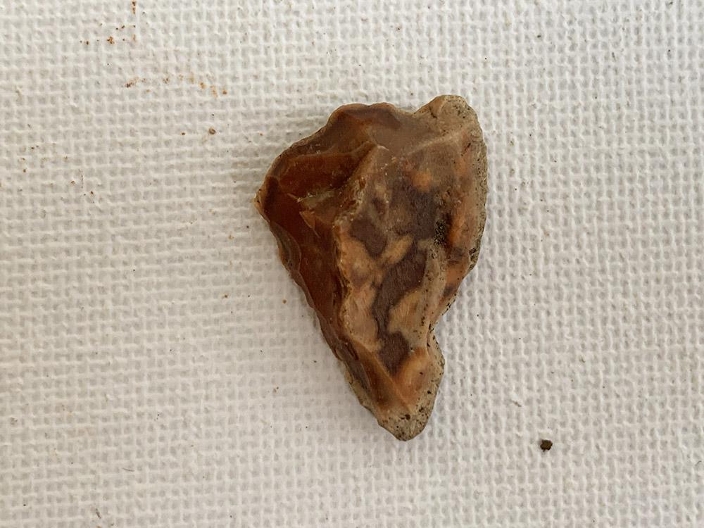 Neolithic Triangular Shaped Arrow Head