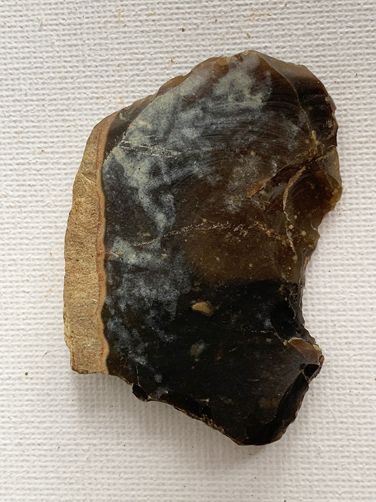 Polished Neolithic Scraper