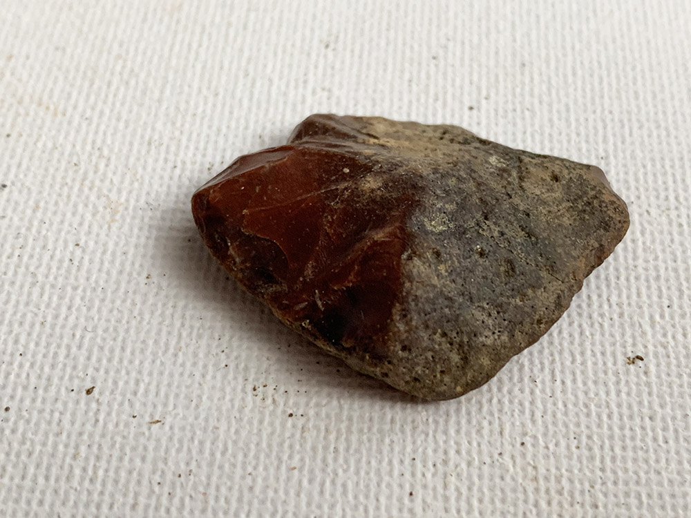 Blood Red Flint - Neolithic Arrow