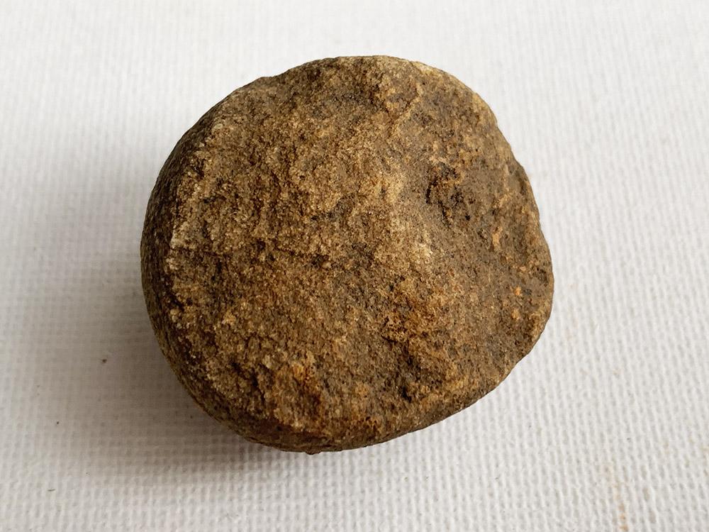 Small Broken Neolithic Hammer-Stone