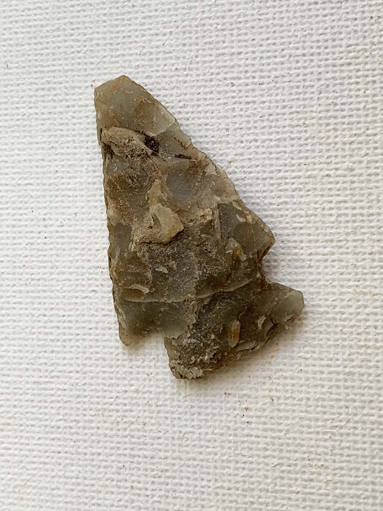 British Barbed and Tanged Arrowhead