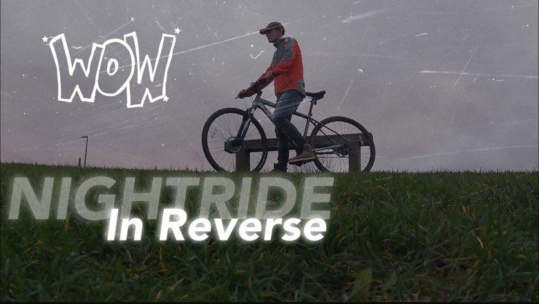 NIGHTRIDE In Reverse | Avant-Garde | Art Film | Music by the Devil's Sway