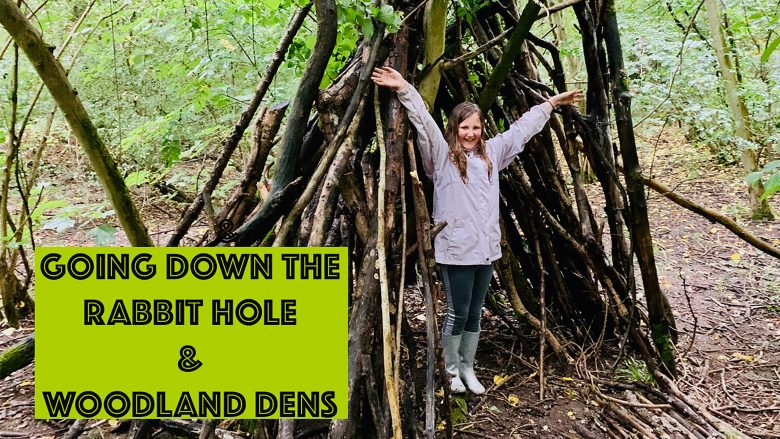 Going Down the Rabbit Hole   Woodland Dens   Family Vlog   Childhood   Stephen and Yhana   Vlog 10