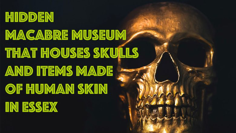 Shock! Unbelievable, Hidden Macabre Museum that houses skulls and items made of human skin in Essex