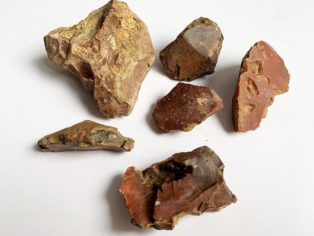 Neolithic Red Heligoland Flint