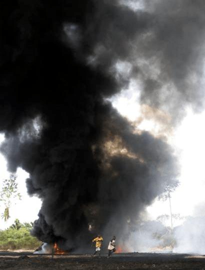 nigerian oil field