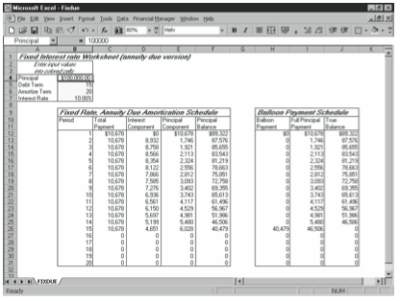 Using the Debt Amortization Starter Workbooks • Stephen L ...