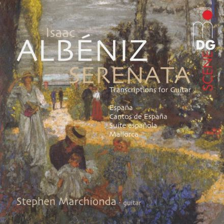 Albeniz Album Cover