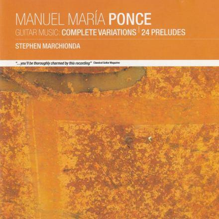 Manuel Maria Ponce Album Cover