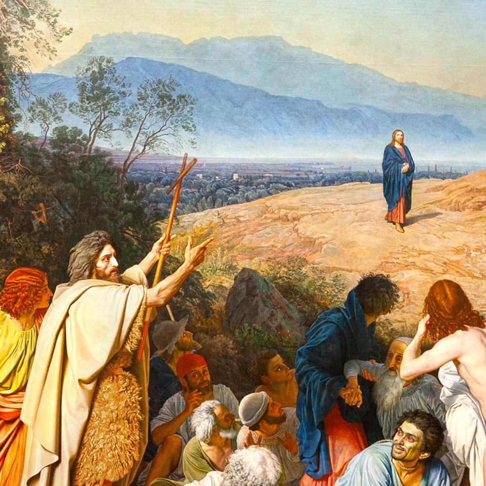 John the Baptist: Advance man for Jesus
