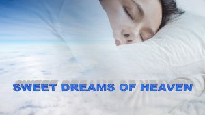 photo of sleeping woman in clouds