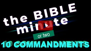 link to video about the ten commandments