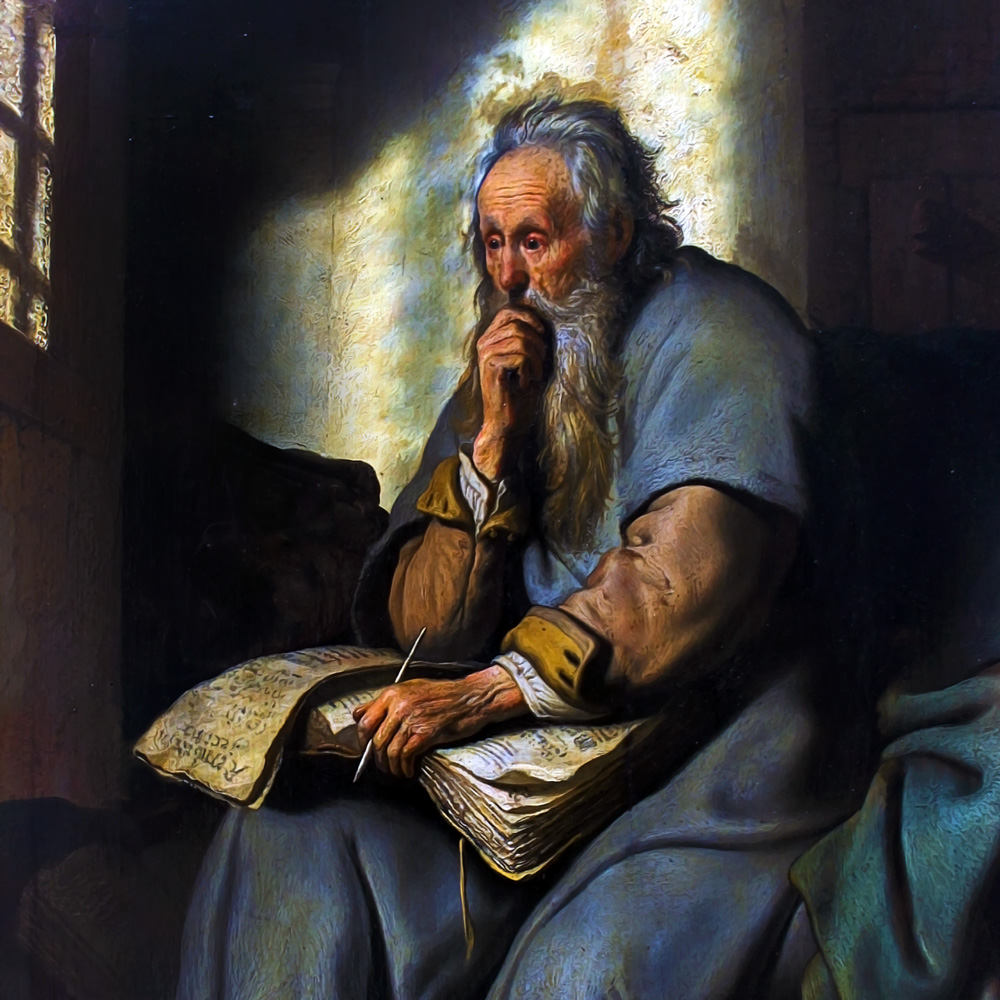 painting of apostle paul in prison