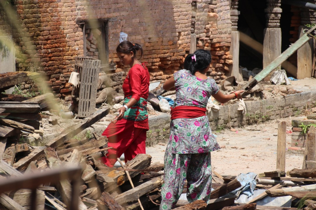 The women especially work so, so hard. They never give in
