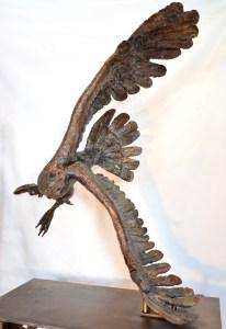 Fish Eagle,bronze,Stephen Rautenbach