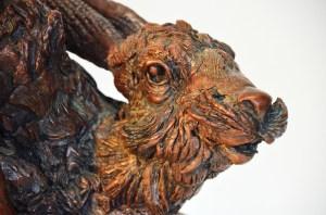 Hare sculpture, bronze Hare statue, Bronze Hare