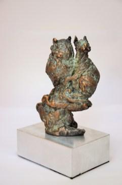 #Owl,pussycat, bronze