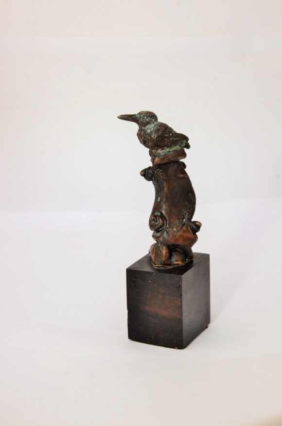 nobirdy, bronze,miniature