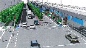 Uncreditted drawing of No 3 Road proposal