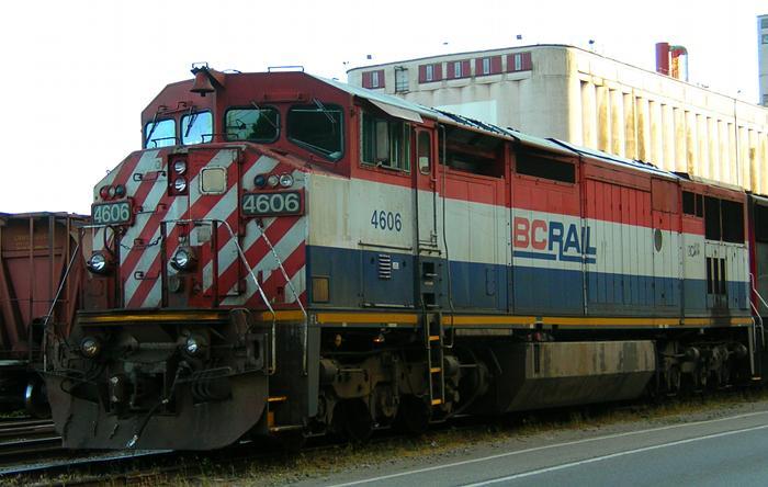 BC Rail 4606 photo by Stephen Rees