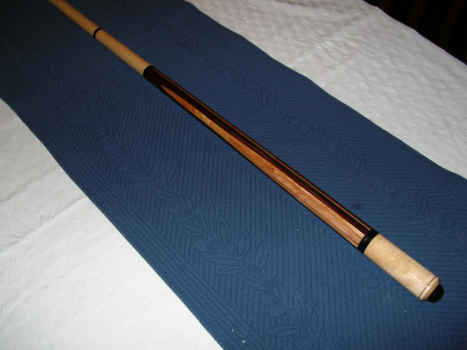 The finised cue