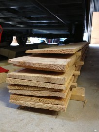 32 pieces of cladding ready and waiting