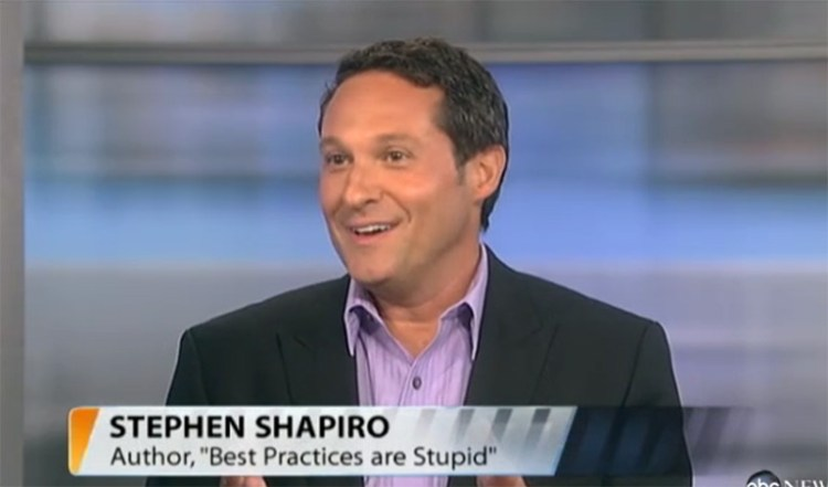 Stephen on ABC News