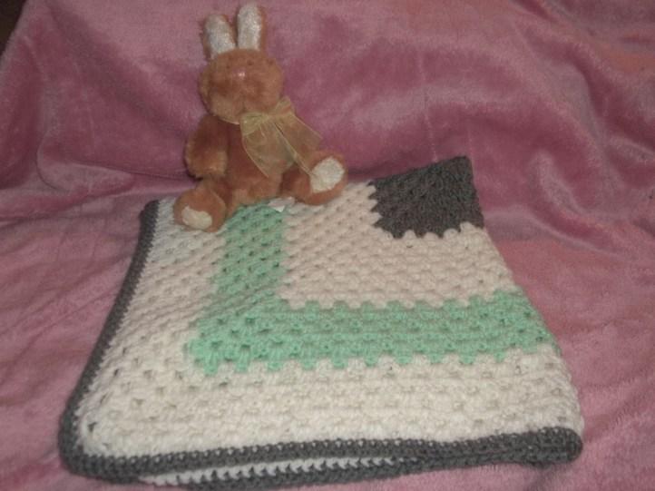 Granny Square baby/toddler blanket
