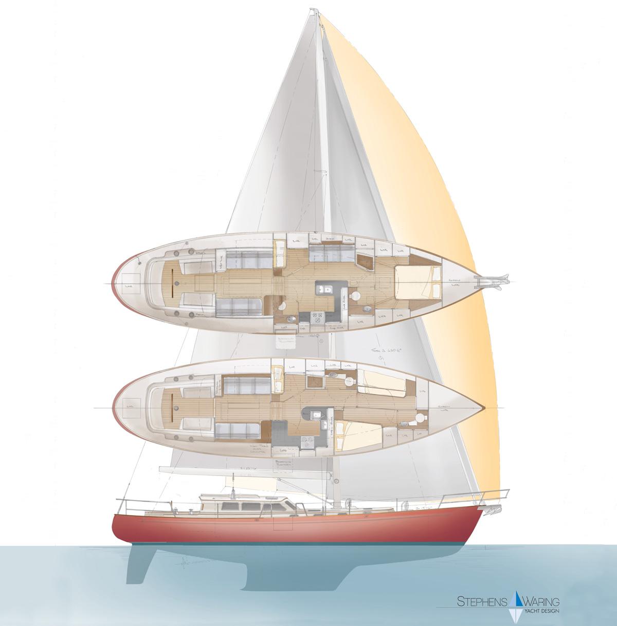 Deuce Stephens Waring Yacht Design
