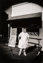 Pattern maker Gary Martin outside of his shop in Portland, Oregon. Gary makes wooden forms that are cast into metal for a variety of commercial clients.