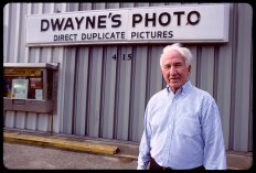 Dwayne Steinle founder of Dwayne's Photo in Parsons, Kansas, the last Kodachrome processor on the planet. Photo © Stephen Takacs.