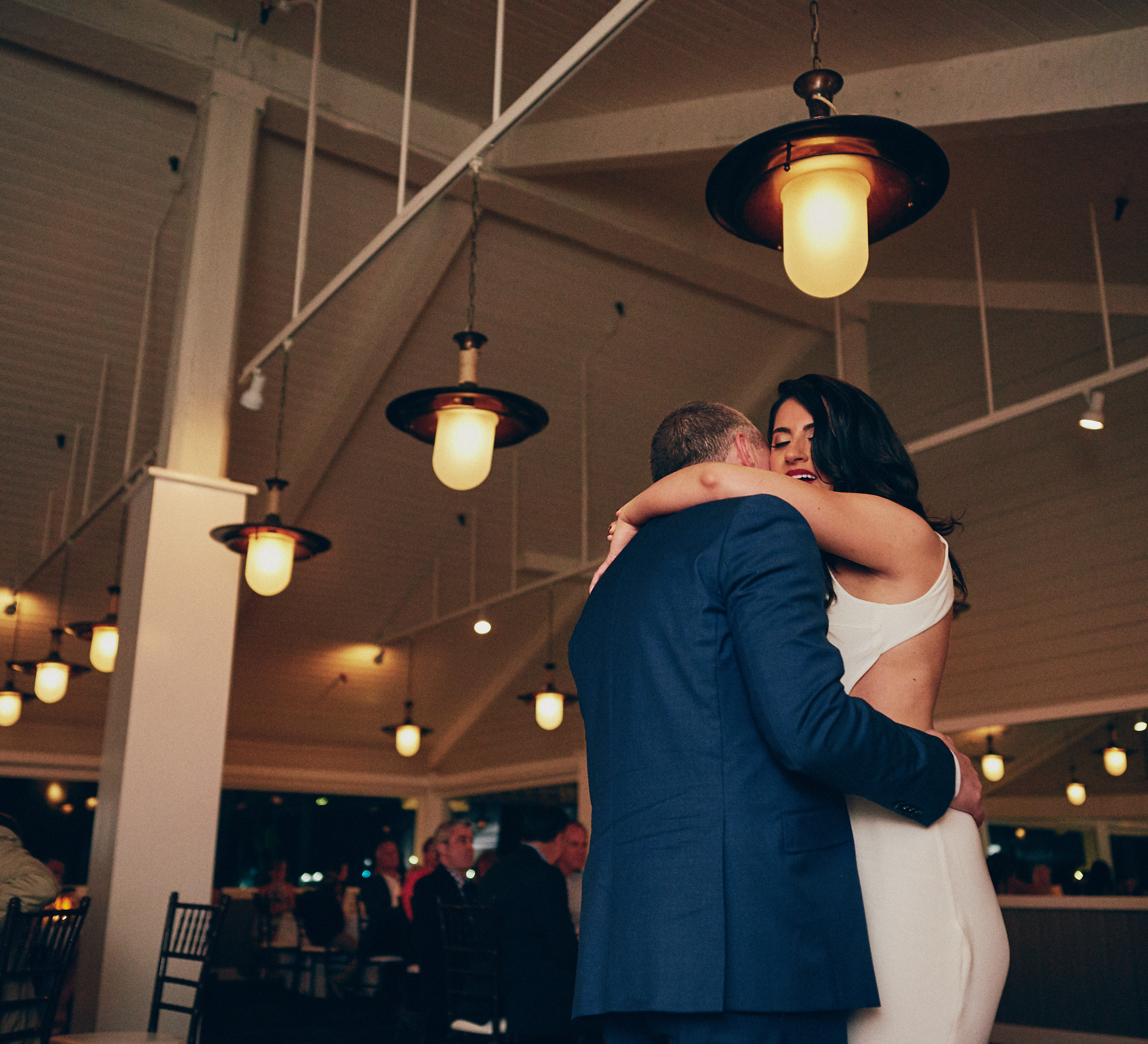 Wedding reception moments Bluewater Grill -Stephen Tang Photo