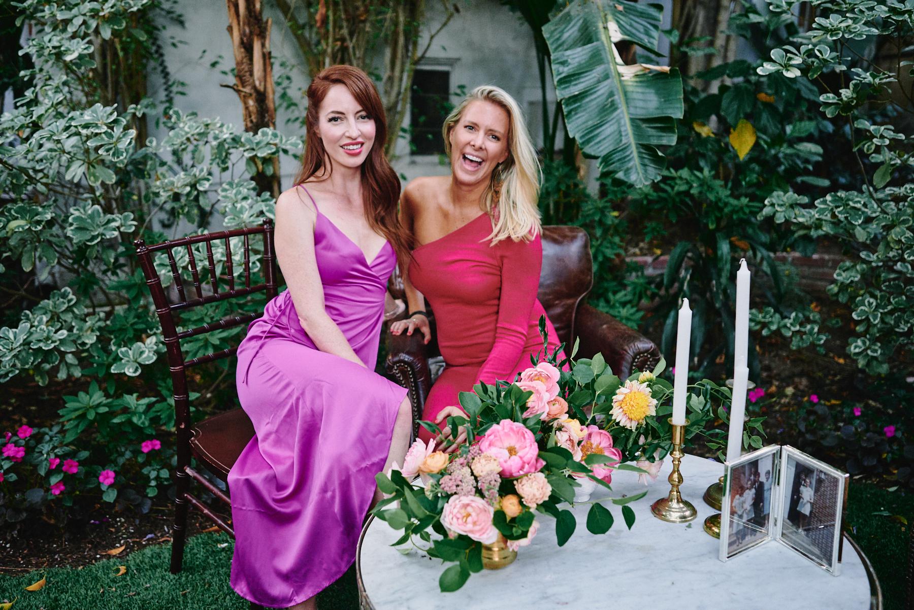 Sunset Marquis wedding reception West Hollywood